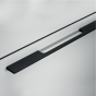 Meubelgreep - Zwart Geborsteld - Greepdikte: 8 mm - Vier lengtes: 192 t/m 1096 mm