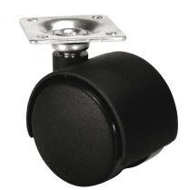 Meubelwiel - 35 kg - Loopvlak Hard - 4 stuks - ø 40 mm