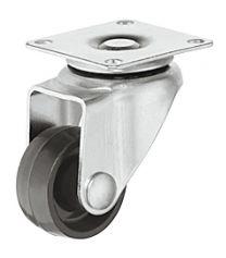 Zwenkwiel - 30 kg - Loopvlak Hard - ø 30 mm