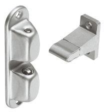 Deurvastzetter - Staal-Aluminium - Zilverkleur - Afstand: 55, 70 mm