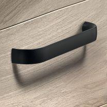 Meubelgreep - Aluminium - Zwart Mat - Greepdikte: 17.5 mm - Twee lengtes: 139 en 171 mm