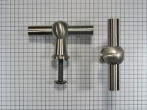 Meubelknop 70 mm. RVS