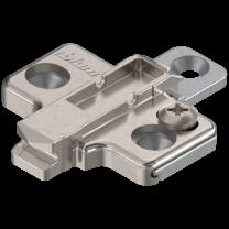 Blum kruismontageplaat  - Standaard - 0 mm