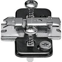 Blum Kruisontageplaat voor Expando - Onyx Zwart - 3 mm