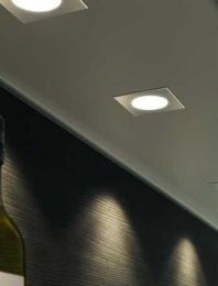 Cubit - Led inbouwspot - RVS Look - Spatwaterbestendig (IP44) - 12V