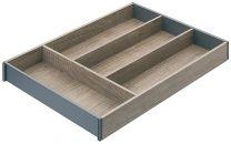 Bestekinzet voor Legrabox - Houtdesign - Nebraska Eiken - NL vanaf: 450 mm