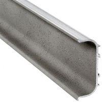 C-Profiel Polka 2 - Aluminium - Grijs Betonlook Mat - Lengte: 2500, 5000 mm