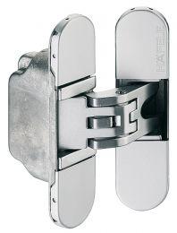 3D Onzichtbaar Scharnier H2 - 45/60 kg - Twee Kleuren - Lengte: 9.5 cm