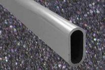Kledingroede 1000 mm - Aluminium - Wanddikte 1.7 mm - Type ST