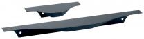 Greeplijst - Aluminium - Om te schroeven - Zwart - 7 Lengtes