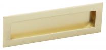 Komgreep - Zamak - Goud Mat - 160 x 50 mm - Om te lijmen