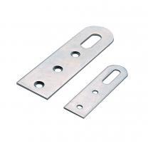 Langwerpige Kastophanger - 2 Lengtes: 55, 90 mm