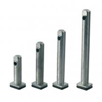 Metalen Stelpoot - Vijf Hoogtes - Inboor - ø 12 mm