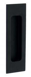 Komgreep - RVS - Zwart - 120 x 40 mm - Om te lijmen