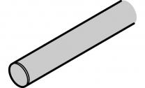Looprail voor Wandmontage - Deurgewicht 70 kg - RVS - Twee lengtes