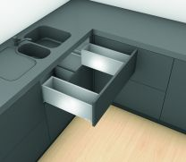 "Spoelbaklade Blum Legrabox C "" Blumotion "" Inbouw-hoogte: 19.3 cm"