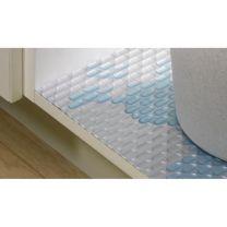 Spoelkastmat - Tegen Waterschade - 1170 x 580 mm - Grijs en Wit