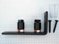 Vloergeleider met wandbevestiging toepasbaar bij vloerverwarming - 4752.000 en 4753.000