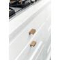 Meubelgreep - Aluminium - Goud Geborsteld - Drie Lengtes: 45, 190, 350 mm