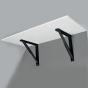 Inklapbaar Plankdrager - 550 tot 700 mm - 100 kg per paar - 1 Stuk
