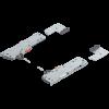 Tip On Blumotion eenheid + Meenemer - Voor Legrabox en Movento geleider