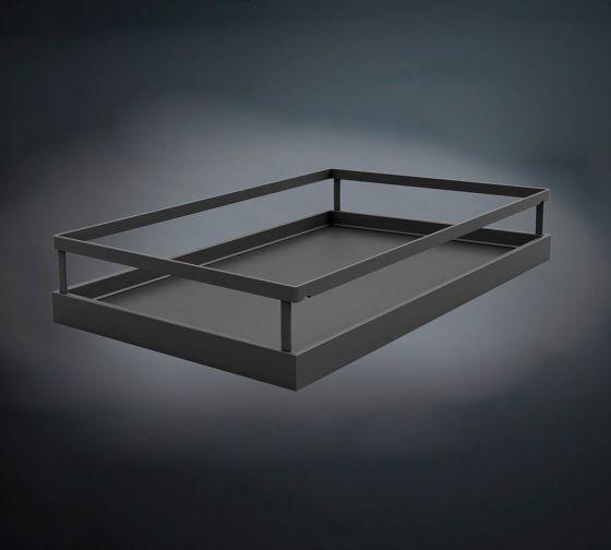 Tandem Solo Inhangbodem Arena Style - Antraciet - Kastbr: 450, 500, 600 mm