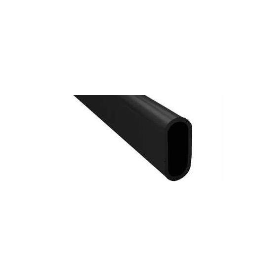Kledingroede 1000 mm - Zwart - Zware kwaliteit - Dikte 2 mm