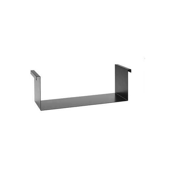 Wesco Smart Inhangtablet - Zwart Aluminium - Voor Breedte 600 mm