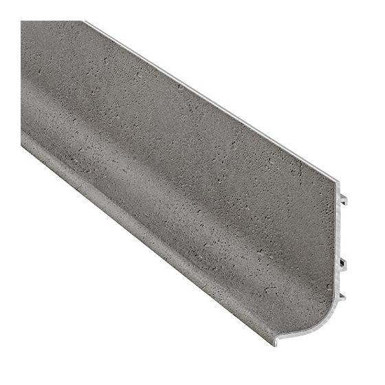 L-Profiel Polka 1 - Aluminium - Grijs Betonlook Mat - Lengte: 2500, 5000 mm