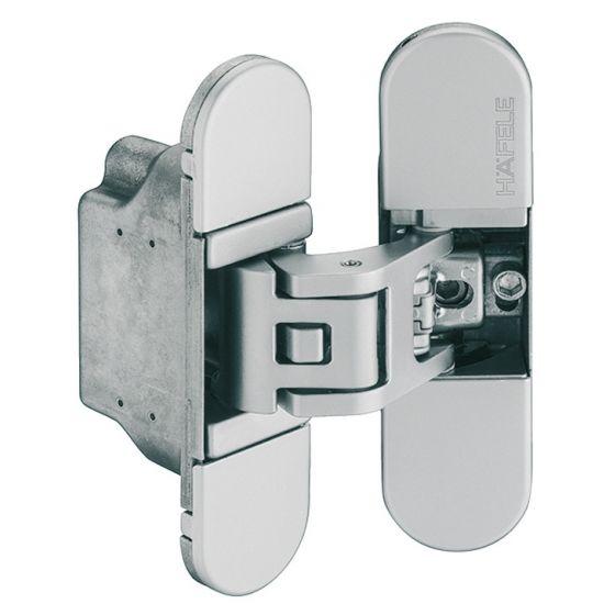 3D Onzichtbaar Scharnier H7 - 50/70 kg - Twee Kleuren - Lengte: 11.15 cm