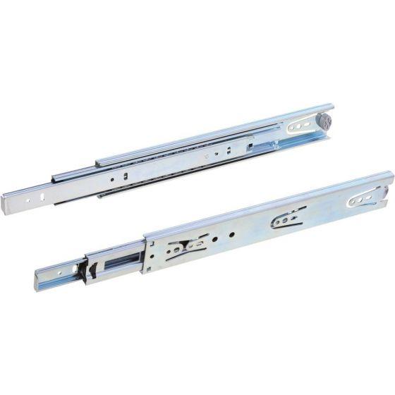 Zijwandmontage Kogelgeleiders Standaard 450 mm - 40 kg