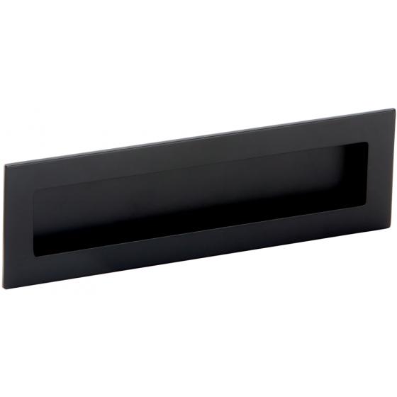 Komgreep - Zamak - Zwart - 160 x 50 mm