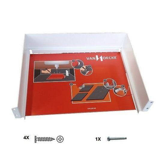 Sifonuitsparing voor Legrabox Lade - Metaal - Vier kleuren - 317 x 248 x 79 mm