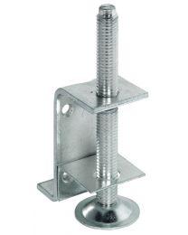 Metalen Stelpoot - Met draagbeugel - Om te schroeven - M10 x 100