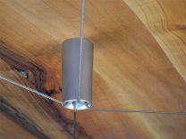 Kabelkruisspanner - Uitlijnbeslag - Kabeleinde om vast te schroeven - Twee maten