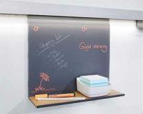 Linero Mosaiq Memo Bord - Kleuren: Titanium / Grafiet Zwart