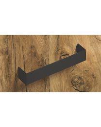 Meubelgreep - Zwart mat - Greepdikte: 25 mm - Lengt: 168 mm