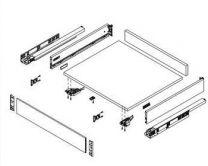 Vionaro Front voor Binnenlade - Hoogte: 121 mm