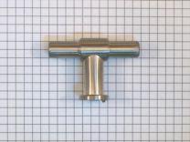 Meubelknop 55 mm - RVS look