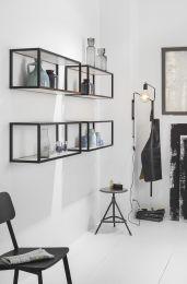 Smartcube Set - Meubelwand-systeem - Aluminium - RVS Look - Hoogte: 300 mm