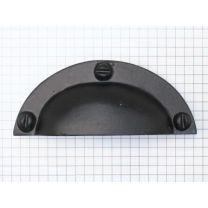 Komgreep - IJzer Zwart - 98 mm