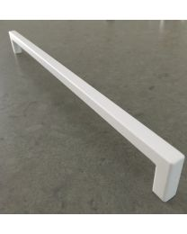 Meubelgreep Sapporo - Aluminium - Wit - Greepdikte: 10 mm - Twee lengtes: 170,  298 mm