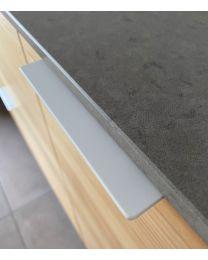 Greep - Zamak - Wit mat - Drie Lengtes: 71 t/m 231 mm