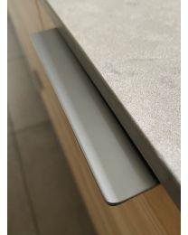 Greep - Zamak - Kleur: Chroom Mat - Drie Lengtes: 71 t/m 231 mm