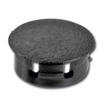 Afdekkap voor Smartcube Meubelwandsysteem - Zwart en Inox Look - 2 Stuks