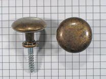 Meubelknop - Zamak - Antiek Brons - ø 24 en 32 mm