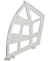 Kiepbeslag voor Schoenenkast - 3 vaks - Kunststof - Set