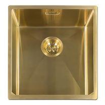 Reginox Miami 40 x 40 Gold - Kastmaat: ≥ 50 cm