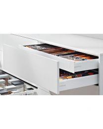 Voorgemonteerd - Binnenlade - Blum Antaro M - Blumotion - Inbouw-hoogte: 10.6 cm - Zijwandhoogte: 8.36