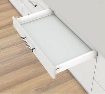 Voorgemonteerd - Lade Antaro M - Tip-On Blumotion - Inbouwhoogte: 9.85 cm - Zijwandhoogte: 8.36 cm